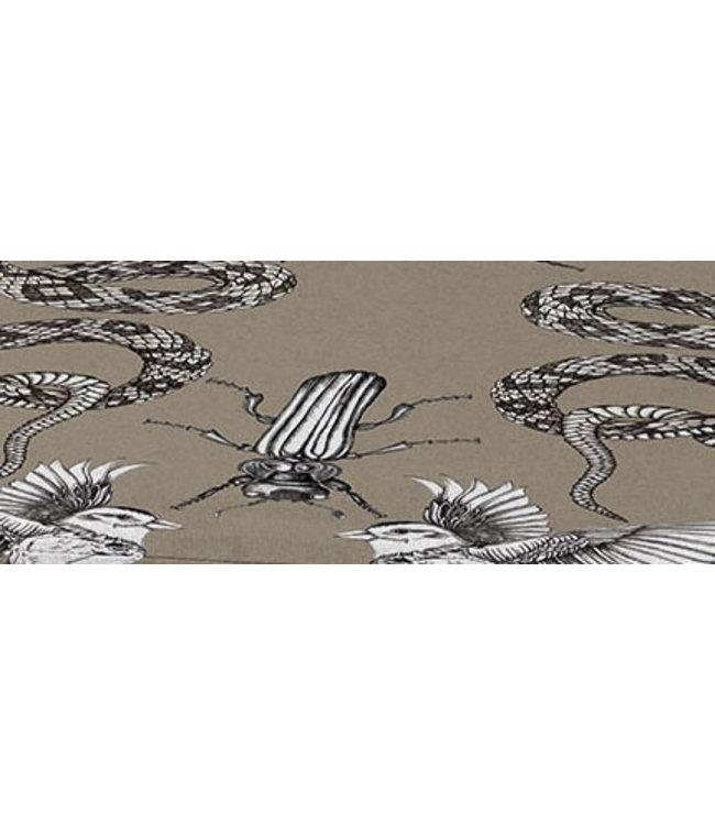 Madison Madison Sierkussen | Aloa Taupe | 50x50cm