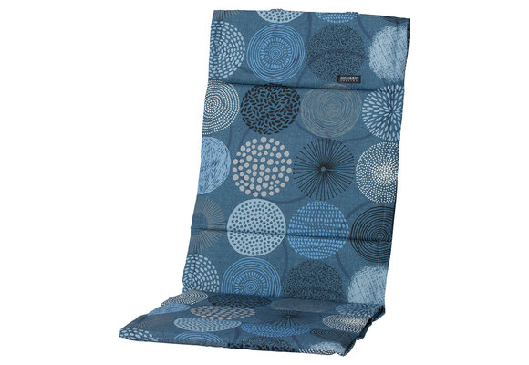 Madison Fiber de luxe kussen | Fantasy Blue | 123x50cm