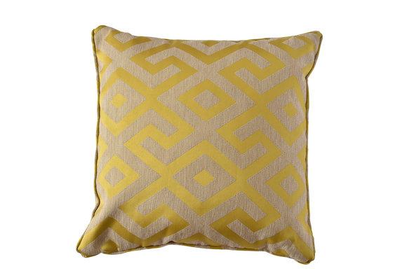 Madison Home Sierkussen | Paris Yellow | 60x60cm