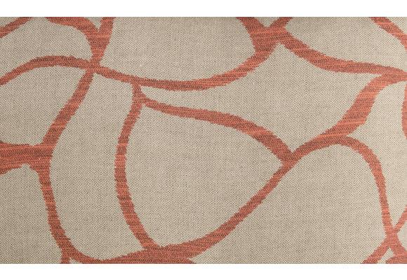 No Time To Waste Sierkussen | Pearl Orange | 50x50cm