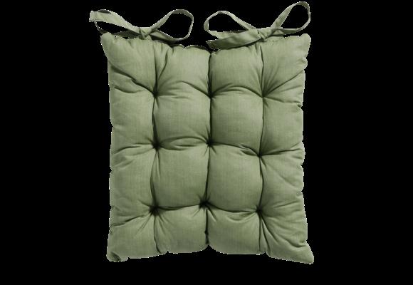 Madison Toscane kussen | Basic Green | 46x46cm
