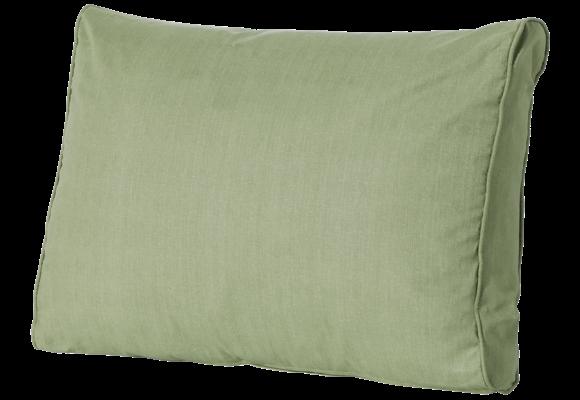 Madison Luxe Loungekussen   Basic Green   60x40cm