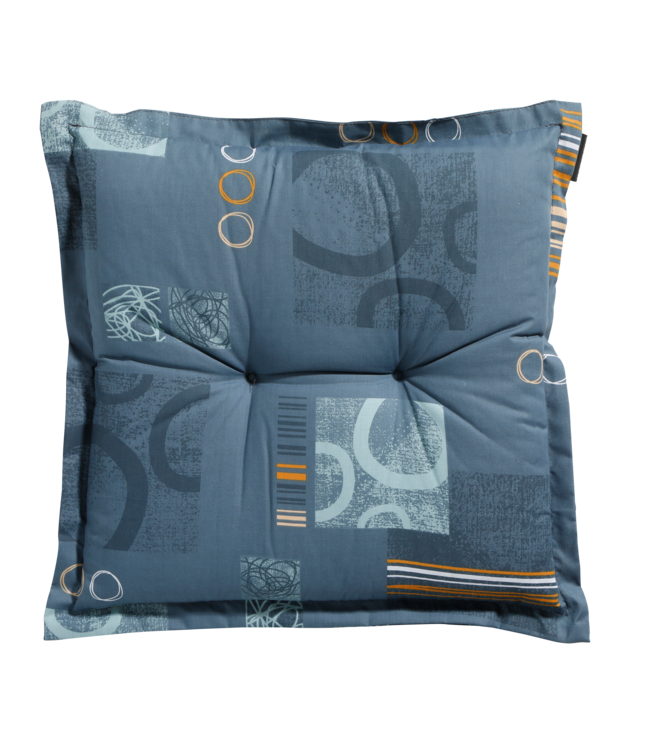 Madison Madison Hocker kussen | Bob Blue | 50x50cm