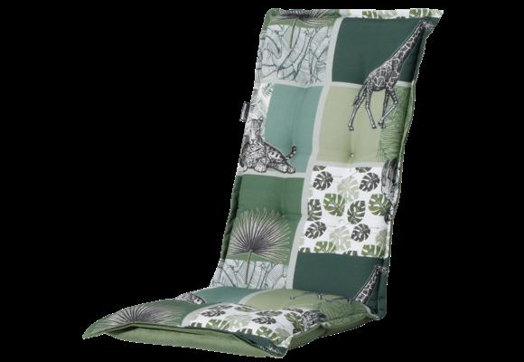 Madison Tuinstoelkussen Hoog | Sifra Green | 123x50cm