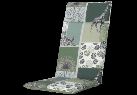 Madison Tuinstoelkussen Universeel Hoog | Sifra Green | 120x50cm