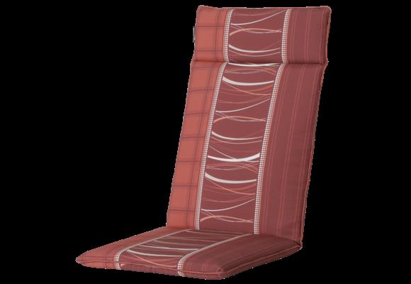 Madison Tuinstoelkussen Universeel Hoog | Lines Brick | 120x50cm