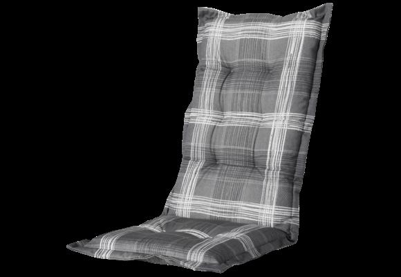 Madison Tuinstoelkussen Hoog | Simon Grey | 123x50cm