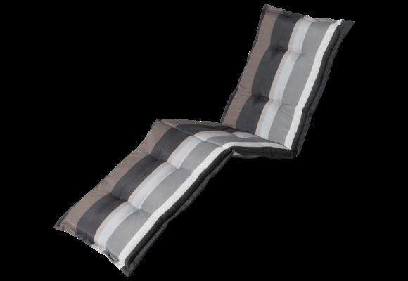 Madison Ligbed kussen | Stripe Grey | 200x60cm