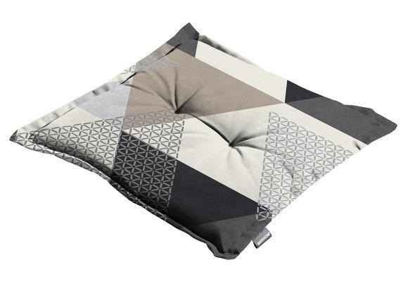 Madison Hocker kussen | Triangle Grey | 50x50cm