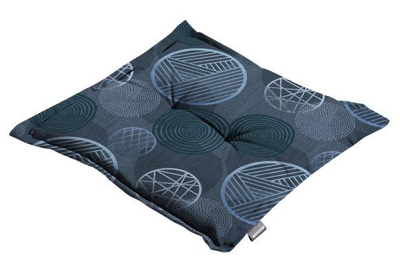 Madison Hocker kussen | Circle Blue | 50x50cm