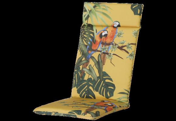 Madison Tuinstoelkussen Universeel Hoog | Riff Yellow | 120x50cm