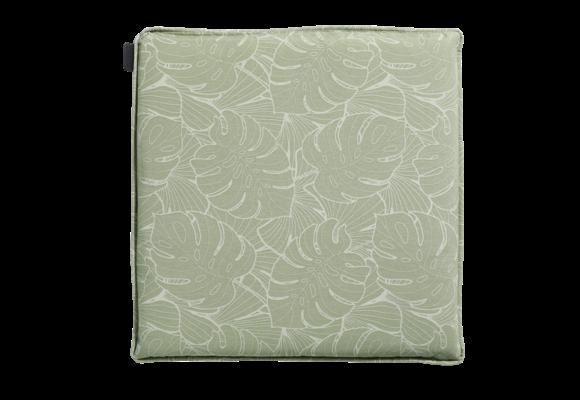 Madison Hocker kussen | Outdoor Palm Green | 50x50cm