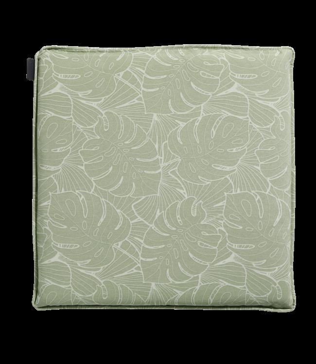 Madison Madison Hocker kussen | Outdoor Palm Green | 50x50cm