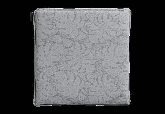 Madison Hocker kussen | Outdoor Palm Grey | 50x50cm