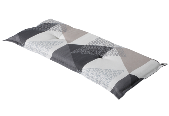 Madison Bankkussen   Triangle Grey