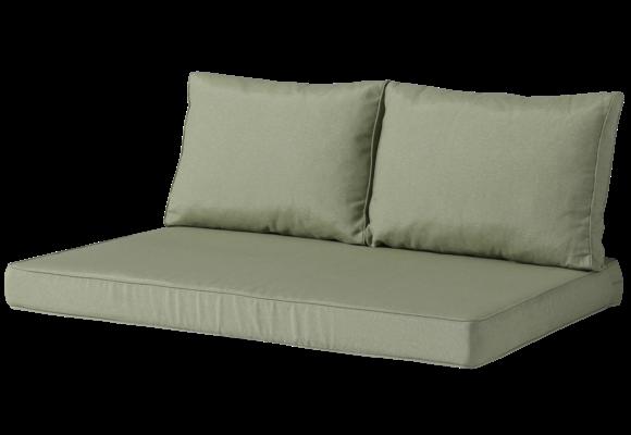 Madison Lounge palletkussen set | Panama Sage | 120x80cm + rugkussens