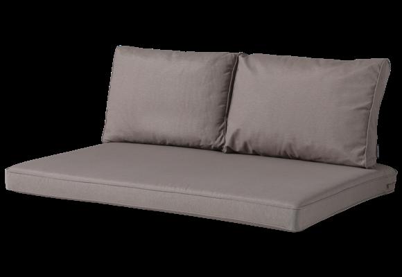 Madison Lounge palletkussen set | Panama Taupe | 120x80cm + rugkussens