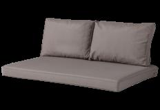 Madison Outdoor Lounge Palletkussen set | 120x80cm + rugkussens