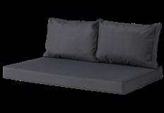 Madison Outdoor Lounge Palletkussen set   120x80cm + rugkussens