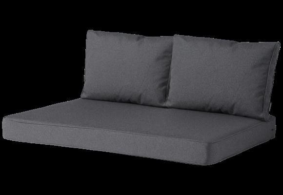 Madison Lounge palletkussen set | Outdoor Manchester Grey | 120x80cm + rugkussens