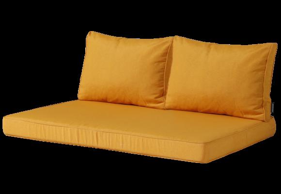 Madison Lounge palletkussen set | Panama Golden Glow | 120x80cm + rugkussens