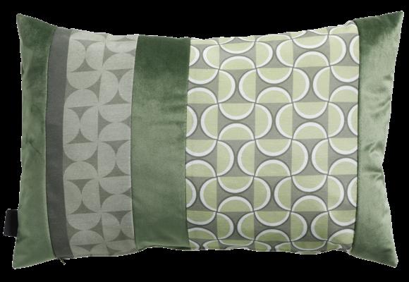 Madison Sierkussen | Velvet Match Army Green | 60x40cm