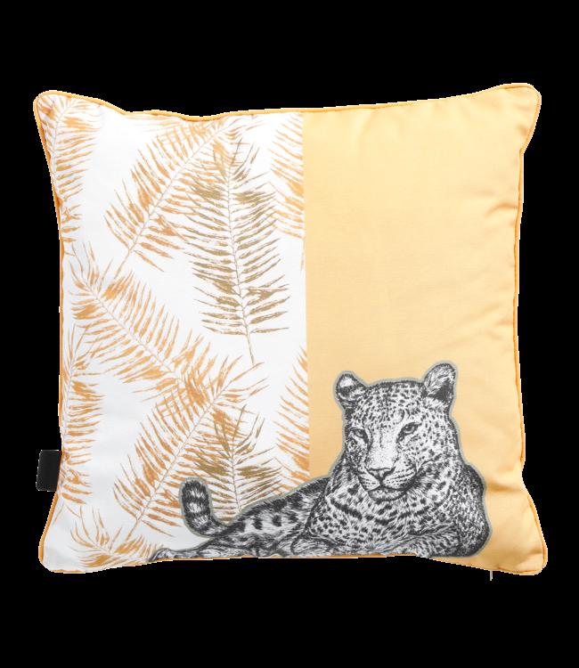 Madison Madison Sierkussen | Tiger Yellow | 50x50cm
