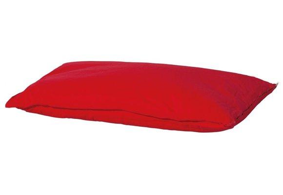 Woef Woef Hondenkussen Comfort   Outdoor Panama Red   70x100cm