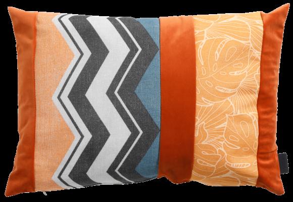 Madison Sierkussen | Velvet Match Orange | 60x40cm