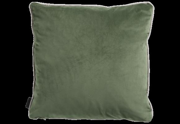Madison Sierkussen   Panama Linnen / Velvet Army Green   45x45cm