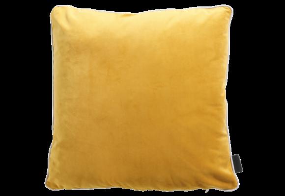 Madison Sierkussen | Panama Linnen / Velvet Yellow | 45x45cm