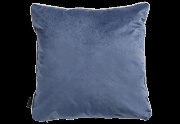 Madison Sierkussen | Panama Linnen / Velvet Dark Blue | 45x45cm