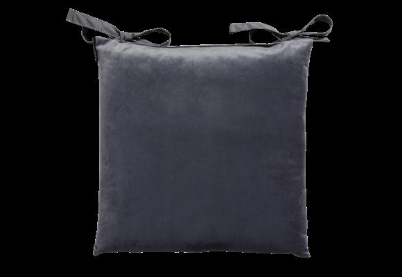 Madison Toscane kussen | Outdoor Velvet Grey | 46x46cm