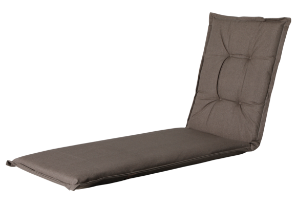 Madison Ligbed kussen | Outdoor Oxford Taupe | 200x60cm