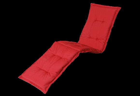 Madison Ligbed kussen | Panama Brick Red | 200x60cm