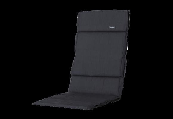 Madison Fiber de luxe kussen | Basic Black | 125x50cm