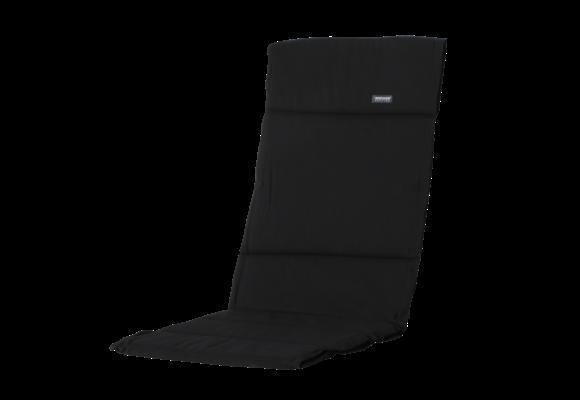 Madison Fiber de luxe kussen | Panama Black | 125x50cm