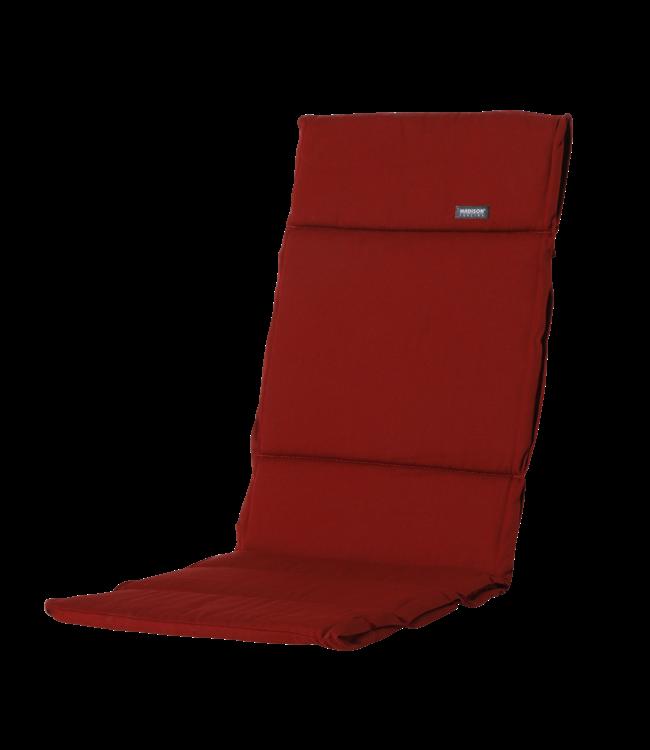 Madison Madison Fiber de luxe kussen   Rib Red   125x50cm