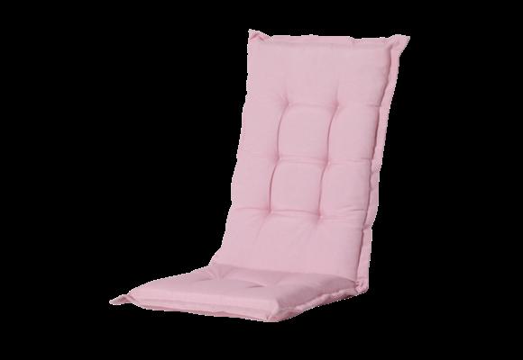 Madison Tuinstoelkussen hoog | Panama Soft Pink | 123x50cm