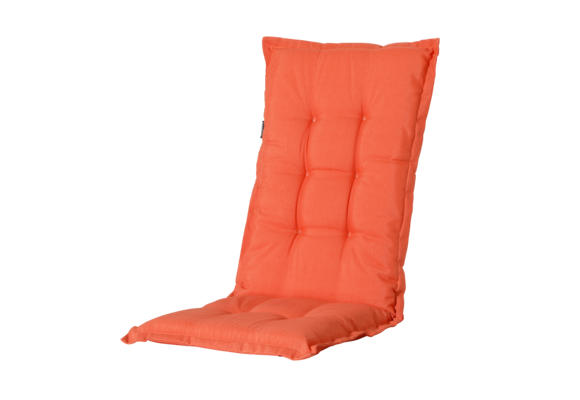 Madison Tuinstoelkussen hoog | Panama Flame Orange | 123x50cm
