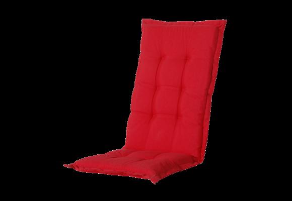 Madison Tuinstoelkussen hoog | Panama Red | 123x50cm