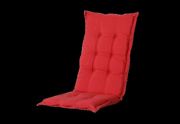 Madison Tuinstoelkussen hoog | Panama Brick Red | 123x50cm