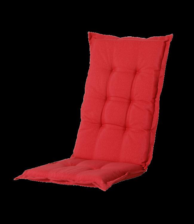Madison Madison Tuinstoelkussen hoog | Panama Brick Red | 123x50cm
