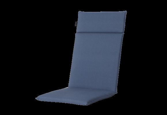 Madison Tuinstoelkussen Uni. hoog | Outdoor Panama Safier Blue | 120x50cm