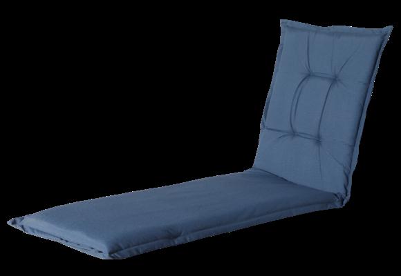 Madison Ligbed kussen | Outdoor Panama Safier Blue | 200x60cm