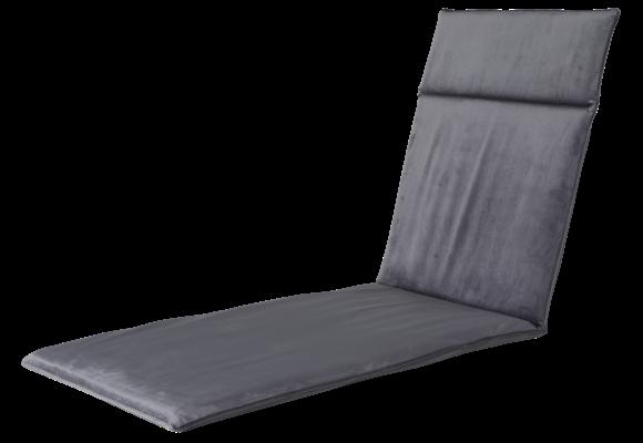 Madison Ligbed kussen | Outdoor Velvet Grey | 190x60cm