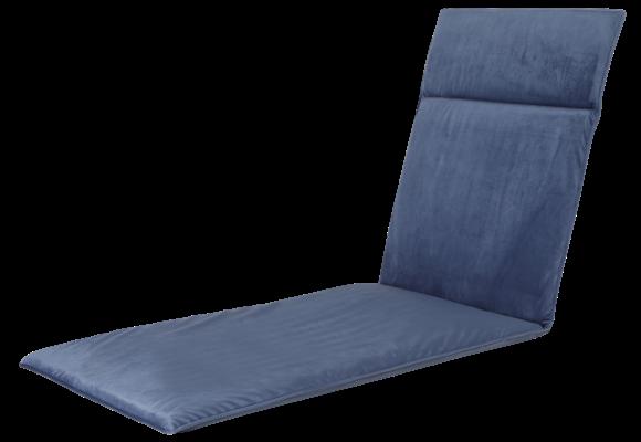 Madison Ligbed kussen | Outdoor Velvet Blue | 190x60cm