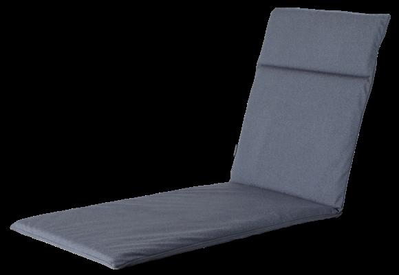 Madison Ligbed kussen | Outdoor Manchester Denim Grey | 190x60cm