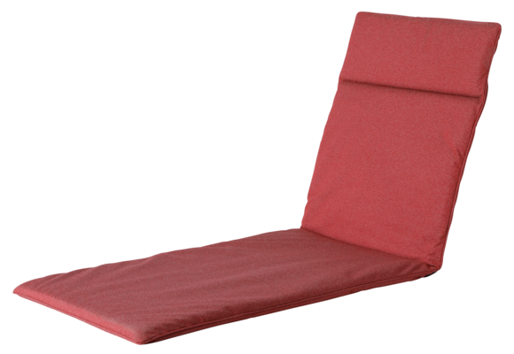 Madison Ligbed kussen | Outdoor Manchester Red | 190x60cm