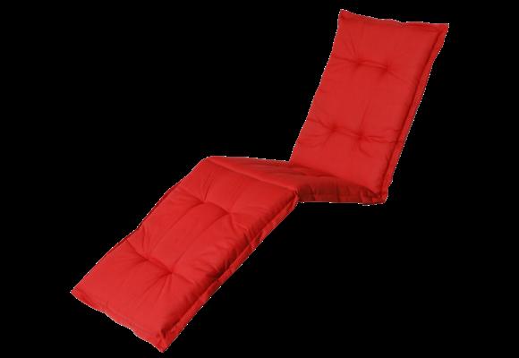 Madison Ligbed kussen | Basic Red | 200x60cm